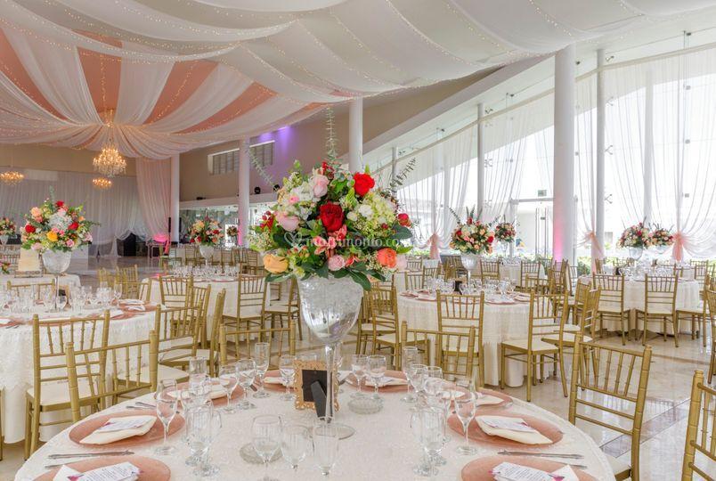 Bodas Elegants centros de mesa