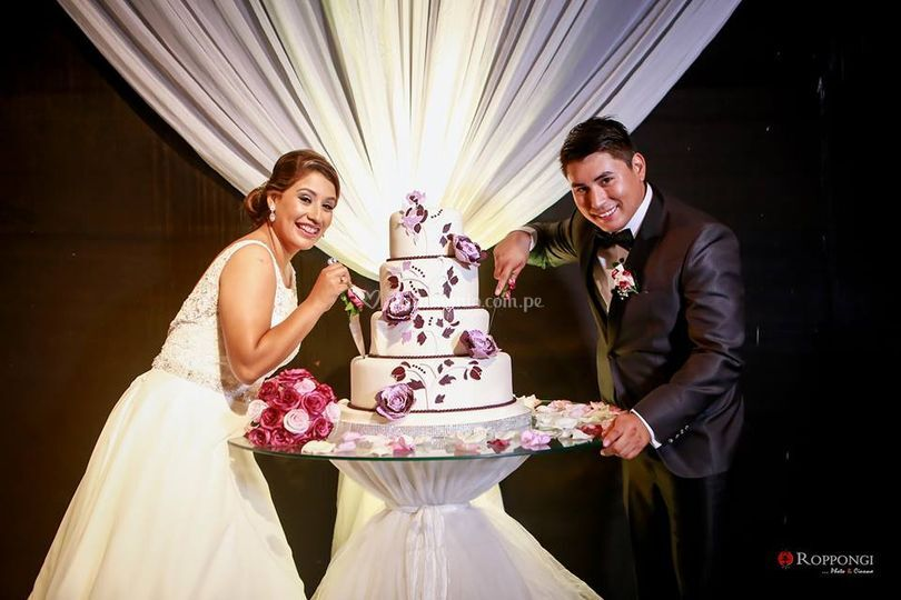 La torta de matrimonio