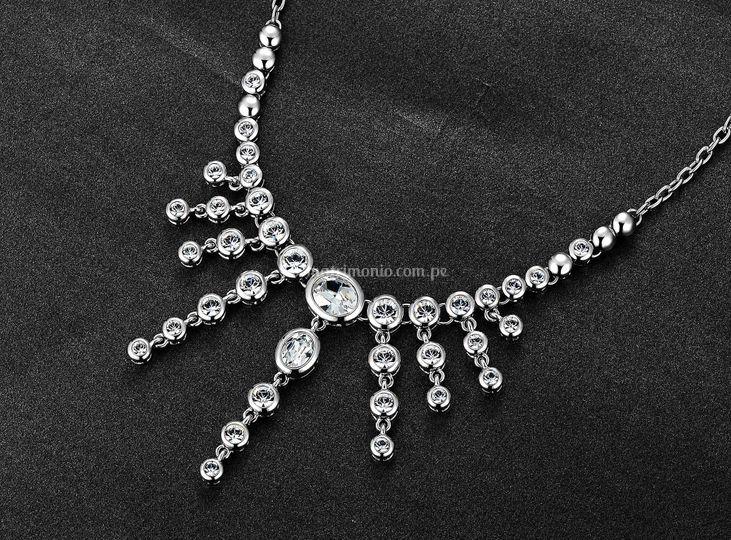 Collar de cristales de swarovsky