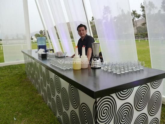 Servicio de open bar y barmans