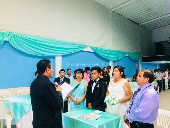 Una boda especial