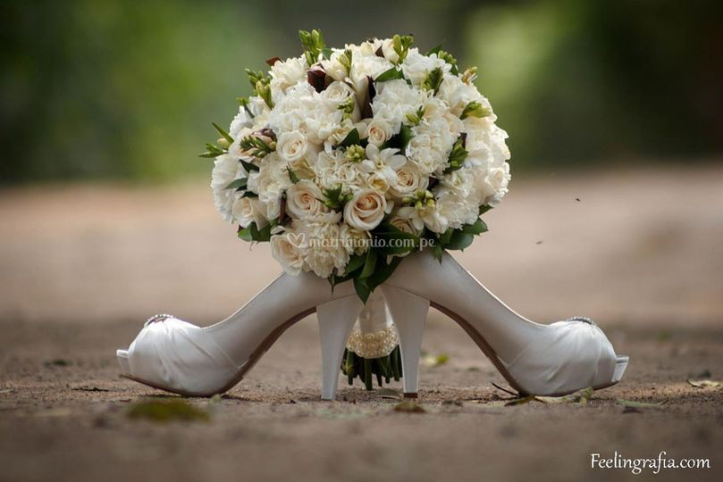 Bouquet y Zapatos
