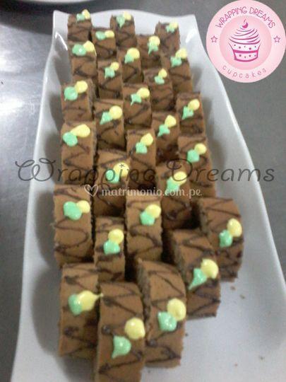 Piononitos de chocolate