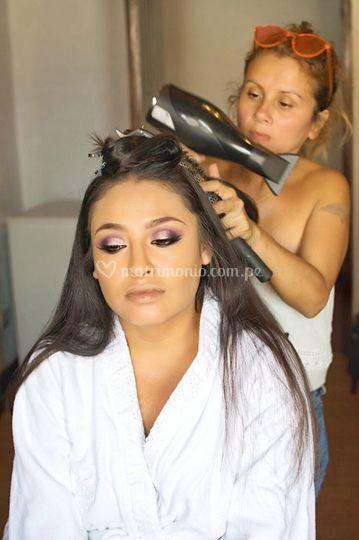 Maquillaje novia Bárbara