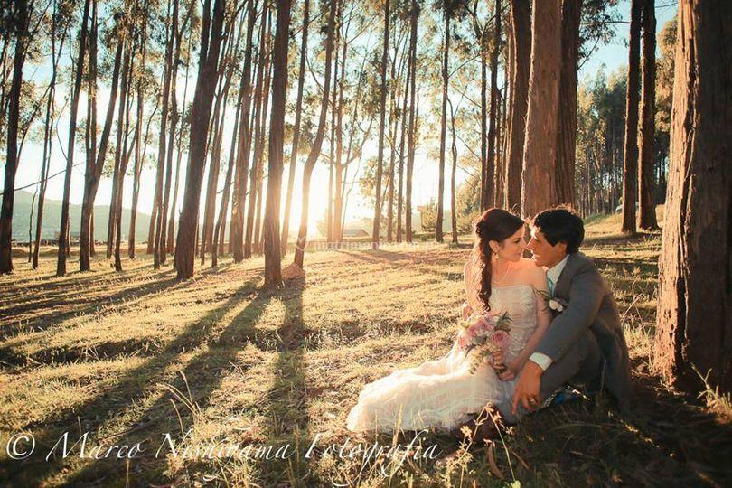 En el paseo de los esposos de Marco Nishiyama | Fotos