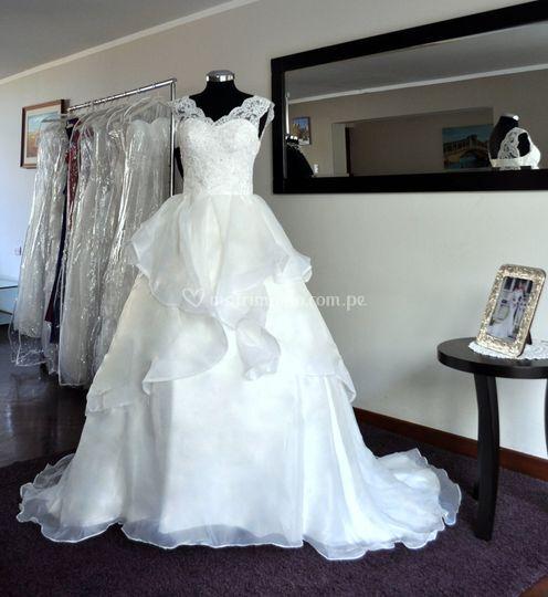 Vestido de novia BD-0002