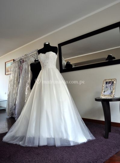 Vestido de novia BD-0003