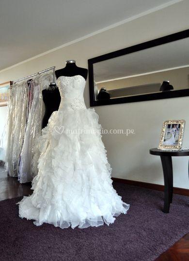 Vestido de novia BD-0005