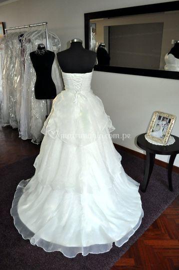 Vestido de novia BD-0004