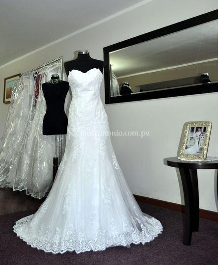 Vestido de novia BD-0008