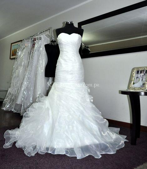 Vestido de novia BD-0001