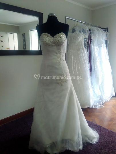 Vestido de novia BD-0006