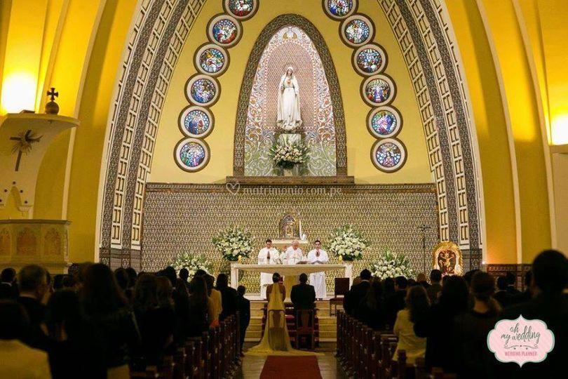 Iglesia virgen de fátima