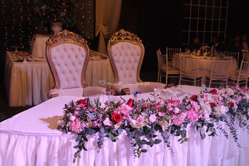 Mesa novia