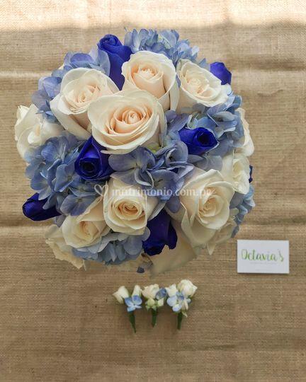 Bouquet azules