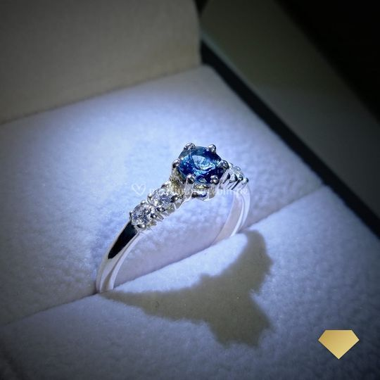 Avril topacio london blue