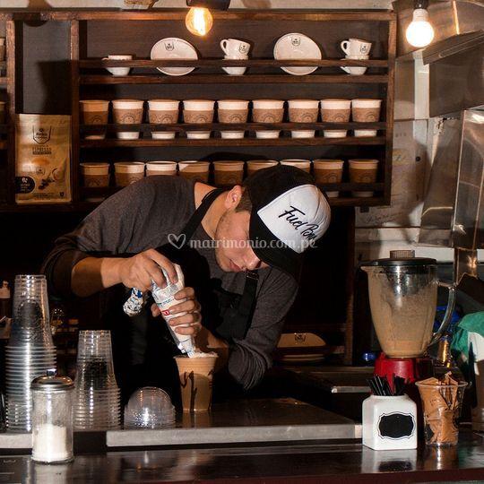 Barra y cafetería