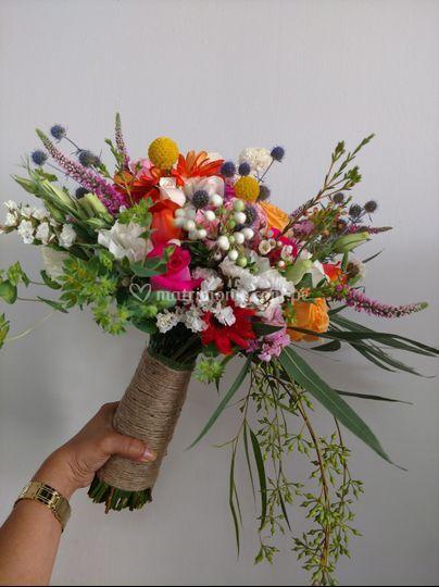 Bouquet estilo campirano