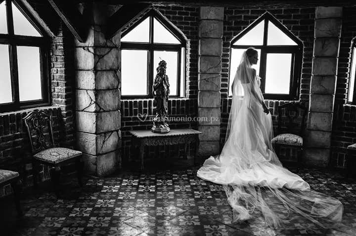 Sesión de fotos revista bodas