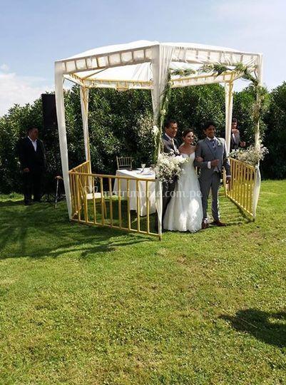 Una boda adorable