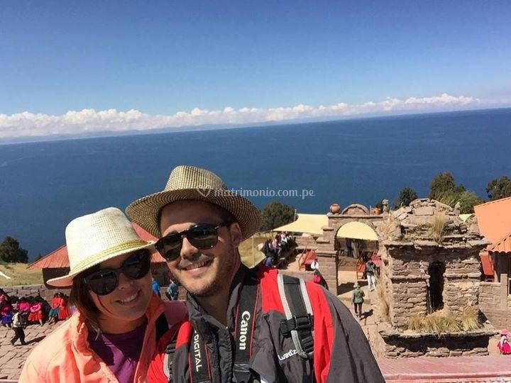 Isla del Titicaca Taquile