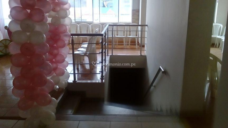 Salón de recepciones Arica
