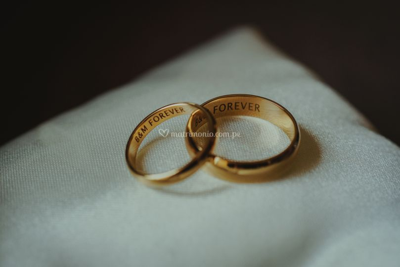Aros de bodas