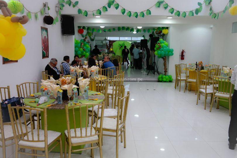 Salon para 100 invitados