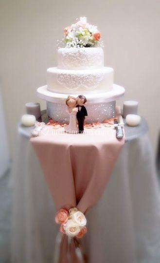 Torta para novios