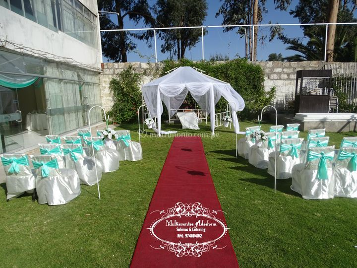 Área verde para tu boda civil