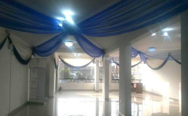 Salón de fiestas interno