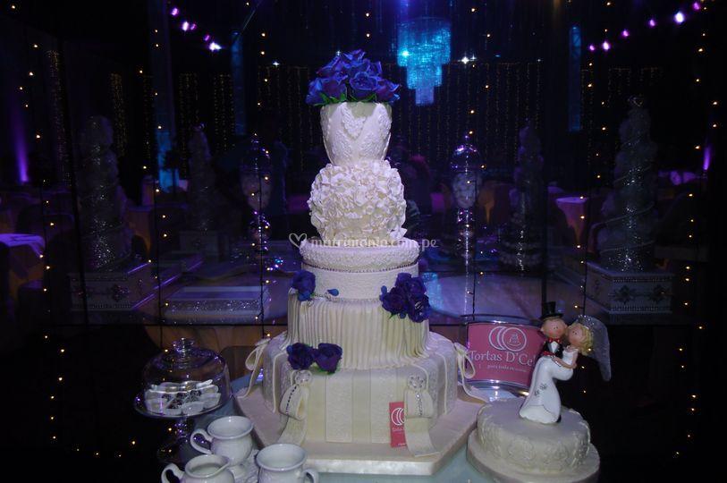 Torta Exagonal