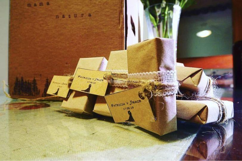 Jabones en papel ecológico