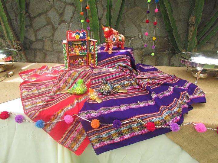 Decoración andina