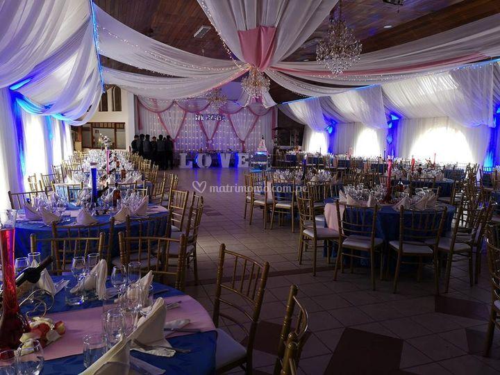 Matrimonio 250 personas
