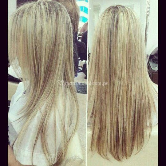 Volumen para un peinado hermos