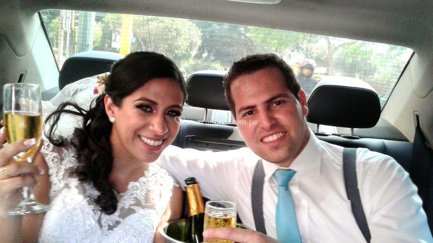 Felicidades recién casados