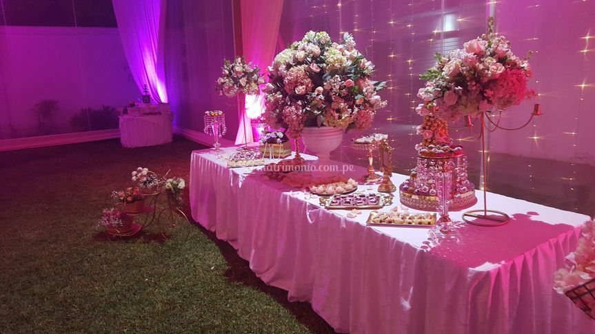 Mesa de tortas