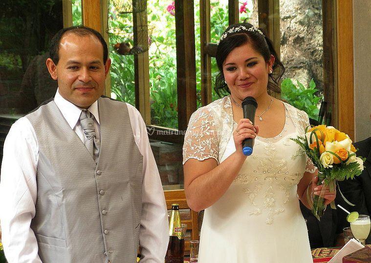 Una boda como en casa