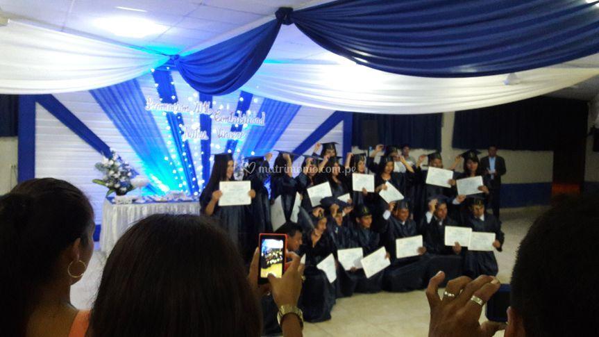 Fiesta de graduacion