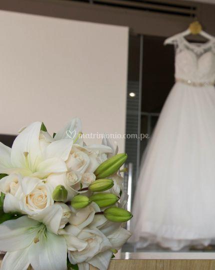 Bouquet en lirios