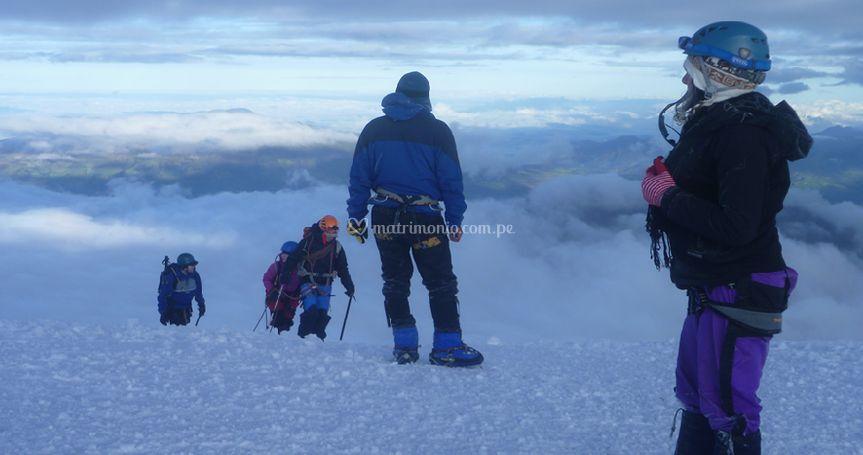 Escalada montañismo climbing