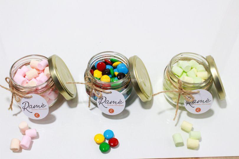 Mix de fascos con dulces