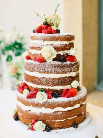 Torta desnuda boda