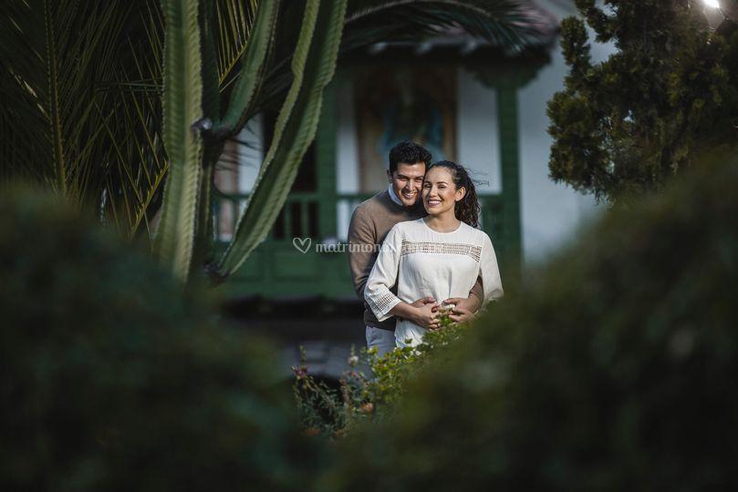 Sesión post boda en Aranwa