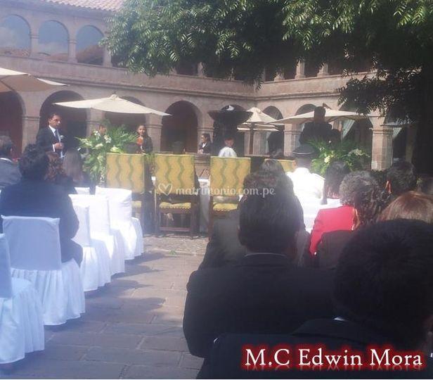 En un matrimonio