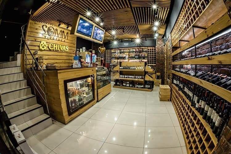 Zona de vinos