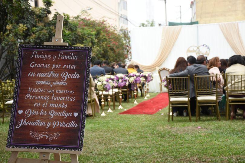 Recepción y fiesta para boda
