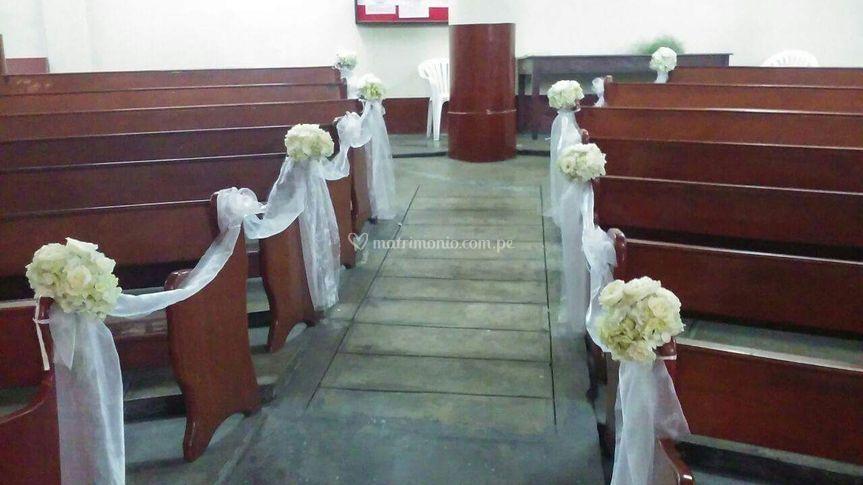 Bancas iglesia