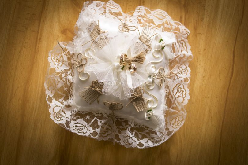 Almohaditas para anillos